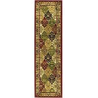 "Safavieh Lyndhurst Traditional Oriental Multicolor/ Red Runner (2'3 x 6') - 2'3"" x 6'"