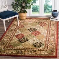 Safavieh Lyndhurst Traditional Oriental Multicolor/ Red Rug - 4' x 6'