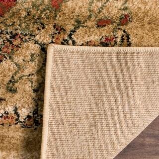 Safavieh Lyndhurst Traditional Paisley Beige/ Multi Rug (8' x 11')