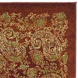 Safavieh Lyndhurst Traditional Paisley Red/ Multi Runner (2'3 x 12') - Thumbnail 1
