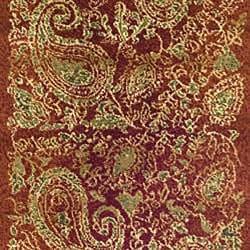 Safavieh Lyndhurst Traditional Paisley Red/ Multi Runner (2'3 x 12') - Thumbnail 2
