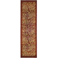 Safavieh Lyndhurst Traditional Paisley Red/ Multi Runner (2'3 x 12')