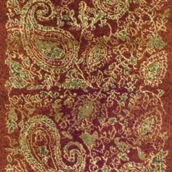 Safavieh Lyndhurst Traditional Paisley Red/ Multi Runner (2'3 x 8') - Thumbnail 2