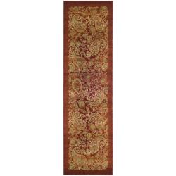 Safavieh Lyndhurst Traditional Paisley Red/ Multi Runner (2'3 x 8') - Thumbnail 0