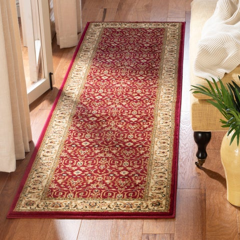"Safavieh Lyndhurst Traditional Oriental Red/ Ivory Rug - 2'3"" x 6' Runner"