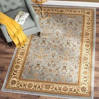 Safavieh Lyndhurst Traditional Oriental Light Blue/ Ivory Rug (4' x 6')