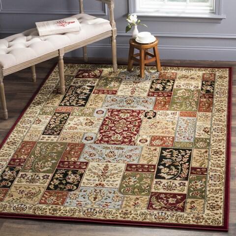 Safavieh Lyndhurst Traditional Multicolor/ Ivory Rug - 6' x 6' Square