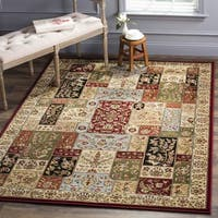 Safavieh Lyndhurst Traditional Multicolor/ Ivory Rug - 6' x 6' Square