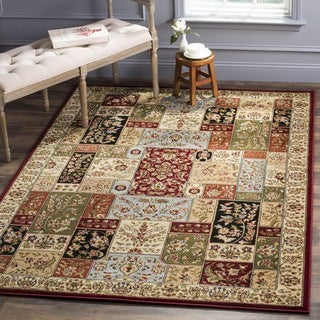 Safavieh Lyndhurst Traditional Multicolor/ Ivory Rug (8' x 8' Square)