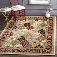 Safavieh Lyndhurst Traditional Oriental Multicolor/ Red Rug (8' x 8' Square) - 8' x 8' Square