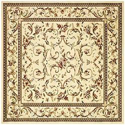 Safavieh Lyndhurst Traditional Oriental Ivory/ Ivory Rug (8' Square)