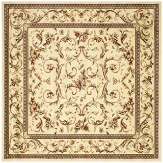 Safavieh Lyndhurst Traditional Oriental Ivory/ Ivory Rug (8' x 8' Square)