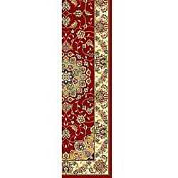 Safavieh Lyndhurst Traditional Oriental Red/ Ivory Runner (2' 3 x 16') - Thumbnail 1