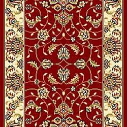 Safavieh Lyndhurst Traditional Oriental Red/ Ivory Runner (2' 3 x 16') - Thumbnail 2