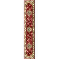 "Safavieh Lyndhurst Traditional Oriental Red/ Ivory Runner Rug - 2'3"" x 16'"