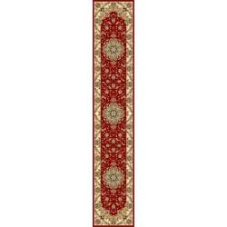 Safavieh Lyndhurst Traditional Oriental Red/ Ivory Runner (2' 3 x 22')