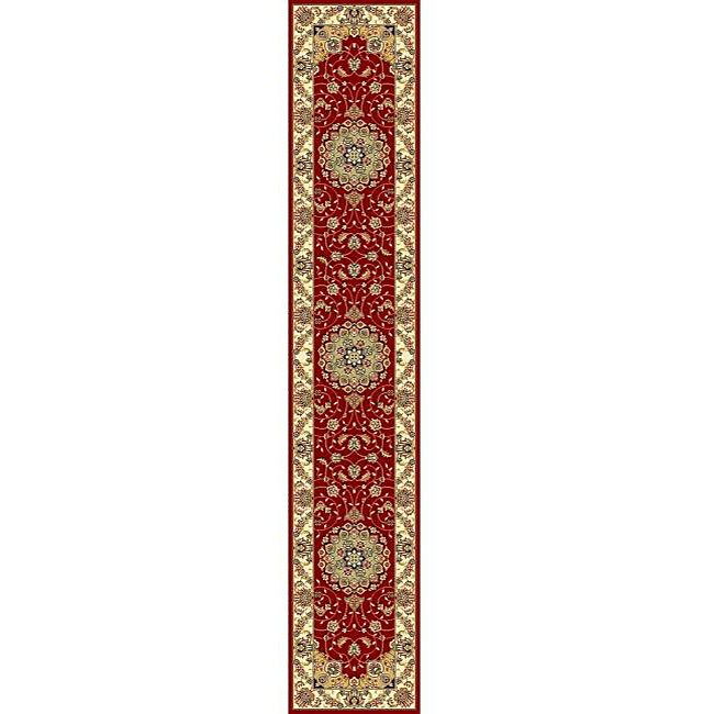 Safavieh Lyndhurst Traditional Oriental Red/ Ivory Runner Rug - 2'3 x 6'