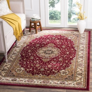 Safavieh Lyndhurst Traditional Oriental Red/ Ivory Rug (8' x 8' Square)