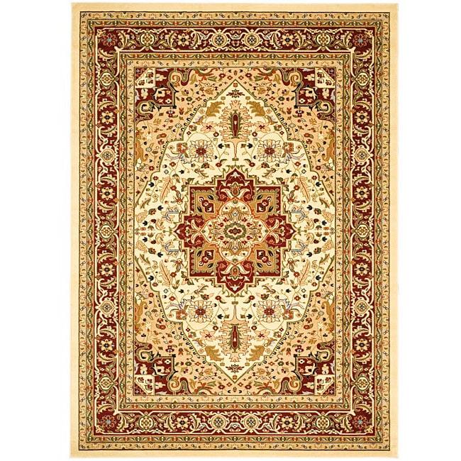 Safavieh Lyndhurst Traditional Oriental Ivory/ Red Area Rug (4' x 6')