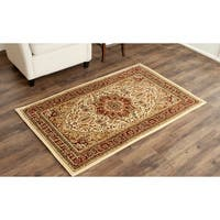 Safavieh Lyndhurst Traditional Oriental Ivory/ Red Area Rug - 4' x 6'
