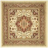 Safavieh Lyndhurst Traditional Oriental Ivory/ Red -Style Rug - 8' x 8' Square