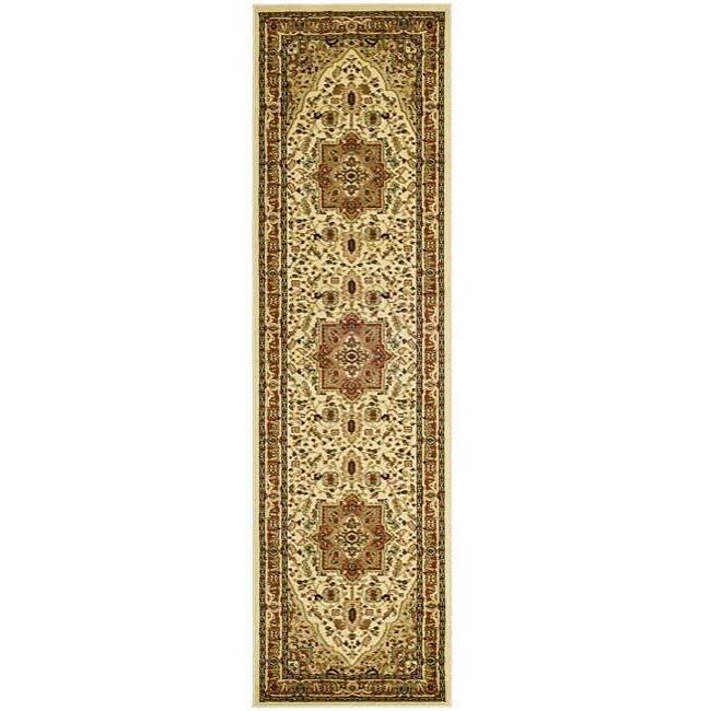 Safavieh Lyndhurst Traditional Oriental Ivory/ Rust Runner (2'3 x 12')