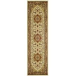 "Safavieh Lyndhurst Traditional Oriental Ivory/ Rust Runner Rug (2'3"" x 14')"