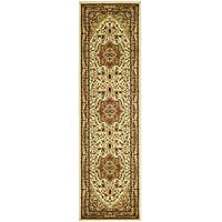 "Safavieh Lyndhurst Traditional Oriental Ivory/ Rust Runner Rug - 2'3"" x 14'"
