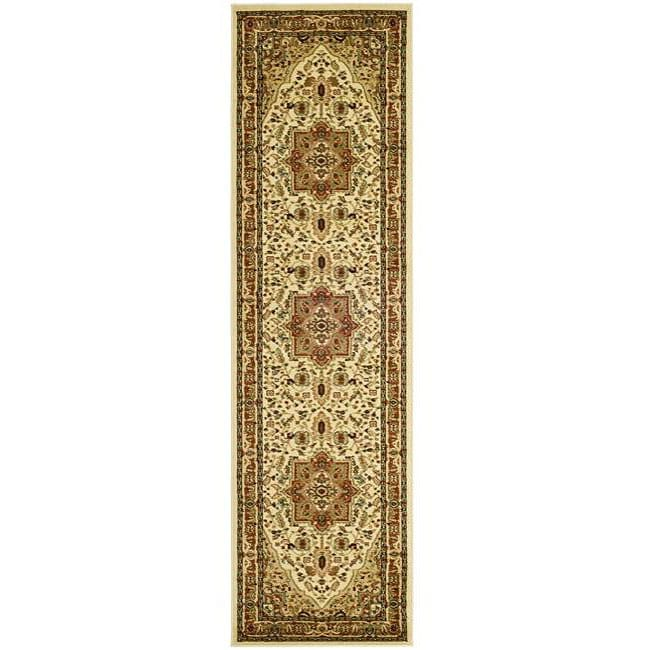 Safavieh Lyndhurst Traditional Oriental Ivory/ Rust Runner (2'3 x 6')