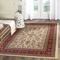 Safavieh Lyndhurst Traditional Oriental Ivory/ Red Rug - 6' x 6' Square
