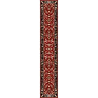 Safavieh Lyndhurst Traditional Oriental Red/ Black Runner (2' 3 x 16')