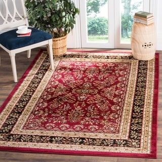 Safavieh Lyndhurst Traditional Oriental Red/ Black Rug (4' x 6')