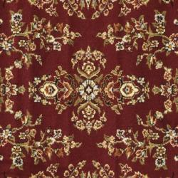 Lyndhurst Collection Red/ Black Rug (8' Square) Safavieh Round/Oval/Square