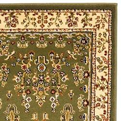 Safavieh Lyndhurst Traditional Oriental Sage/ Ivory Runner (2' 3 x 16') - Thumbnail 1