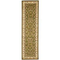 Safavieh Lyndhurst Traditional Oriental Sage/ Ivory Runner Rug - 2' 3 x 16' - Thumbnail 0