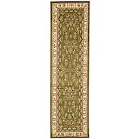 Safavieh Lyndhurst Traditional Oriental Sage/ Ivory Runner Rug - 2'3 x 22'