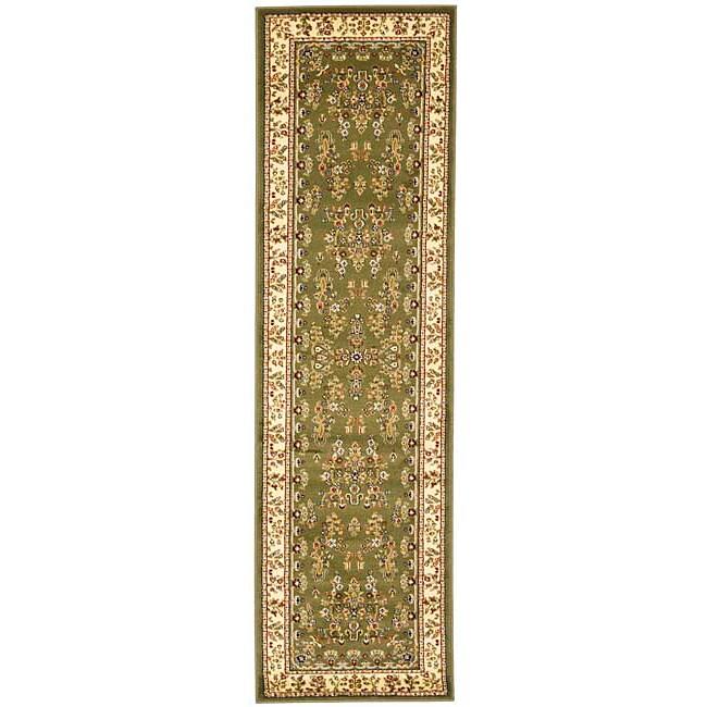 Safavieh Lyndhurst Traditional Oriental Sage/ Ivory Runner Rug - 2'3 x 6'