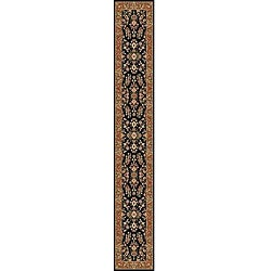 Safavieh Lyndhurst Traditional Oriental Black/ Tan Runner (2'3 x 16')