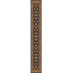 Safavieh Lyndhurst Traditional Oriental Black/ Tan Runner (2'3 x 22')