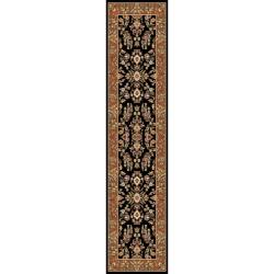 Safavieh Lyndhurst Collection Black/ Tan Runner (2'3 x 6')