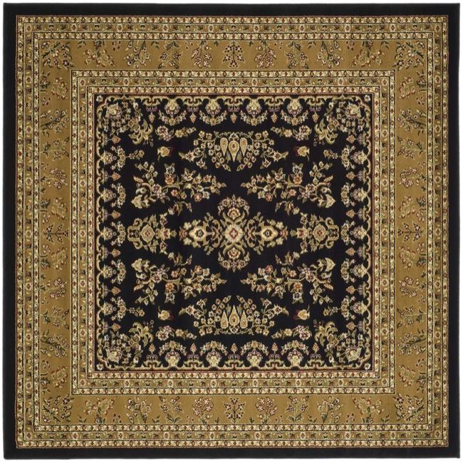 Shop Safavieh Lyndhurst Traditional Oriental Black Tan Rug 8 X 8