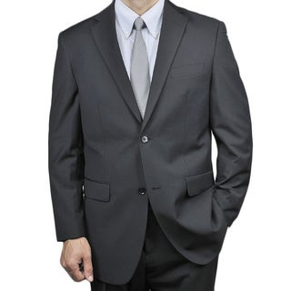 Men's Black 2-button Suit