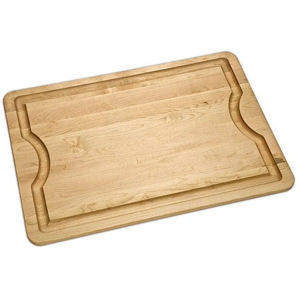 J.K. Adams 16-Inch by 12-Inch BBQ Maple Wood Cutting Board