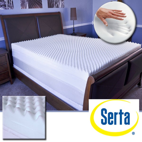 Serta Restoration 4-inch Memory Foam Mattress Topper
