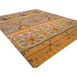 Hand-tufted Cabaret Abstract Wool Rug (7'9 x 9'9) - Thumbnail 1