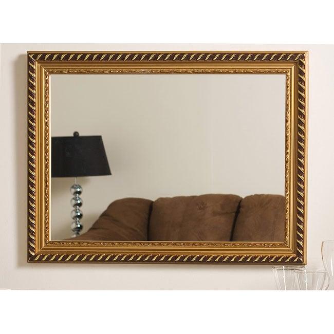 Marina Gold Framed Wall Mirror