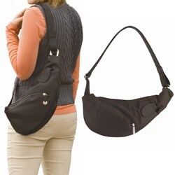 Travelon Anti-theft Sling Bag with Adjustable Reinforced Strap
