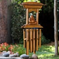 Handmade Bamboo and Wood Buddha Altar Chime (Indonesia)