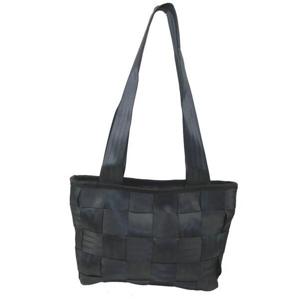 Handmade Recycled Porsche Seatbelt Handbag (India)