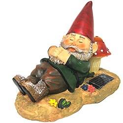 Relaxing Gnome Mushroom Solar Light